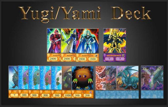 Yu-Gi-Oh! Anime Style Cards: Yugi Mutou/Yami - Awakening of Dragons