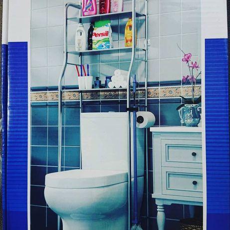 Стелажи в ванную комнату