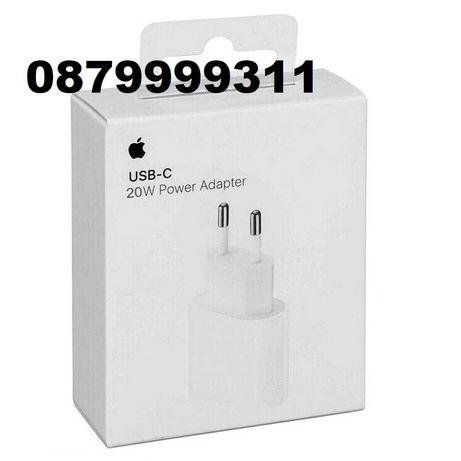 Apple Fast Charge Кабел Адаптер Бързо Зарядно iPhone 11 12 Pro Max Xs