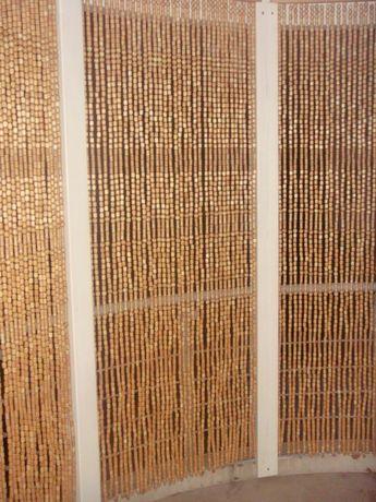 завеси от дървени топчета произвеждам