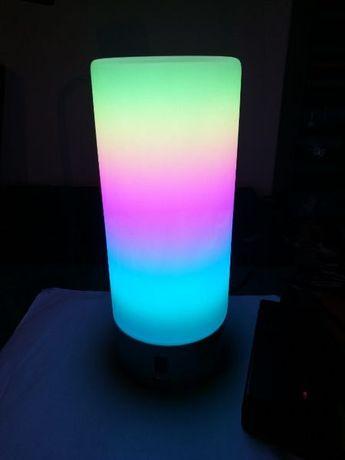 "ПРОМОЦИЯ!!! Настолна Wi-Fi LED лампа Будилник ""Wi-Fi Светлинно Шоу"""