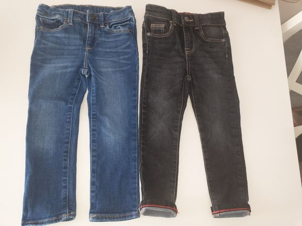 2 perechi jeansi Gap baietel 2-3 ani