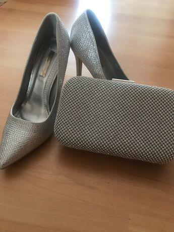 Официални обувки и чанта