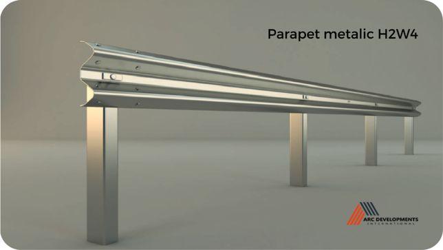 Parapet metalic rutier și pietonal - H2W4