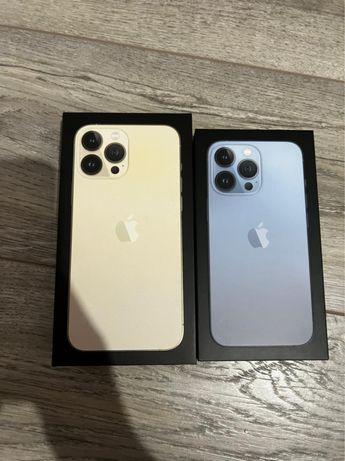 Продам новые iphone 13 Pro max 256 gold 13Pro 256 sierra blue