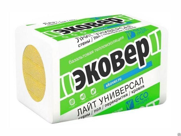 """минплита """"ЭКОВЕР"""" 30, 40, 70 плотности"""