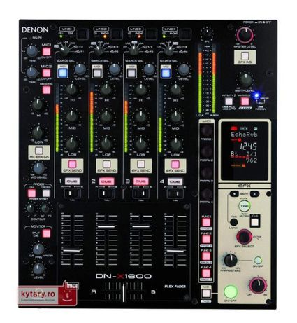 Denon x 1600 Mixer DJ djm cdj ( pioneer )