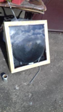 Captator solar DIY aer cald