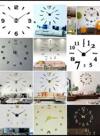 3d Настенный 3D часы 3Д сағат. Необычный дизайн! Оптом и розницу
