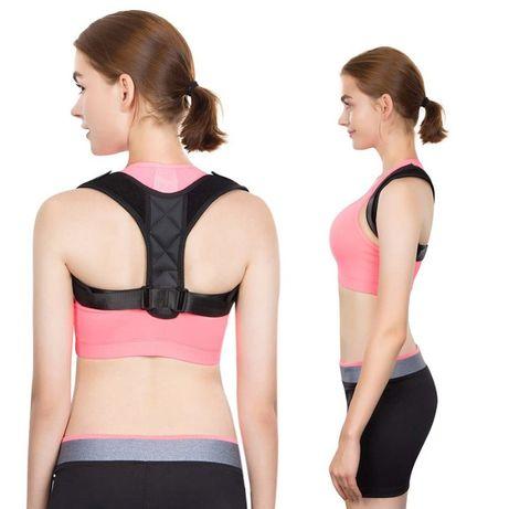 Колан за изправяне на гърба раменете стойка прав гръб прегърбване