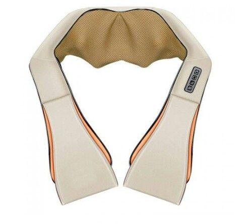 НАЛИЧНИ! 4Д шиацу масажор нов модел 4 копчет 16 масажиращи глави!