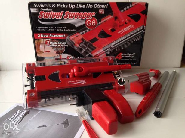 Электровеник Swivel Sweeper G6 от интернет-магазина discount-center.kz