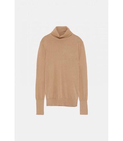 Pulovere Zara maro/camel din lana S/M mai multe modele