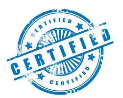 Сертификация, ISO.