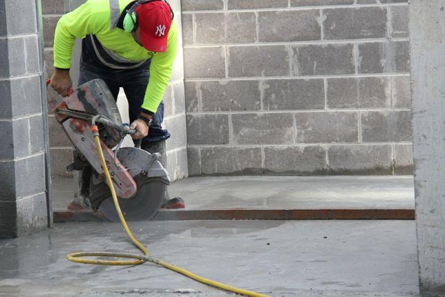 Taiat taieri beton armat,caramida, bca ,decupaj usi, ferestre.Carota