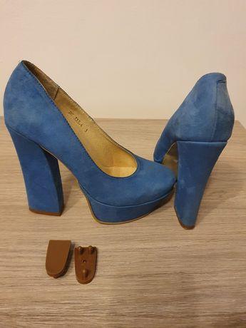 Pantofi piele int-ext, marime 35