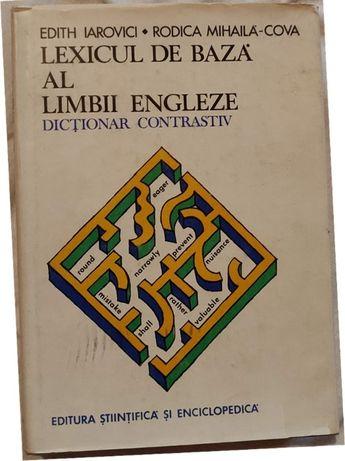 Lexicul de baza al Limbii Engleze- Edith Iarovici, Rodica Mihaila-Cova