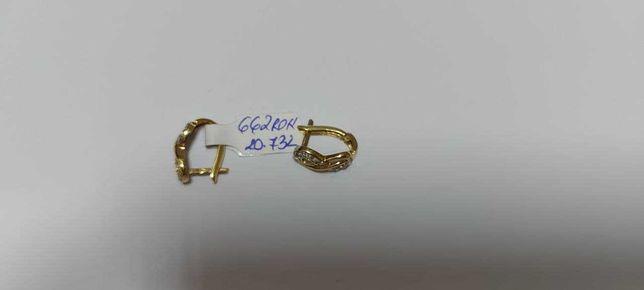 cercei aur nou 14 k star amanet (tec)