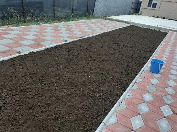 Pământ pentru gradina amenajari exterioare