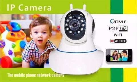 Camera IP Onvif P2P HD WiFi Audi3