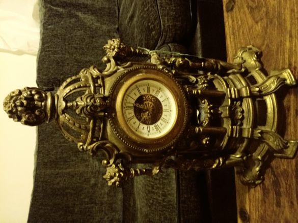 Часовник от месинг работи перфектен