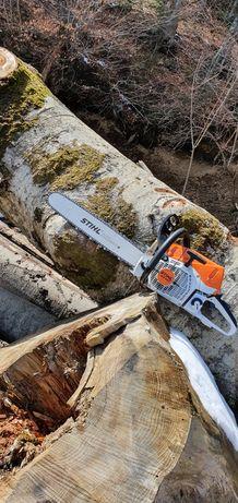 Prestez servicii de taiat lemne
