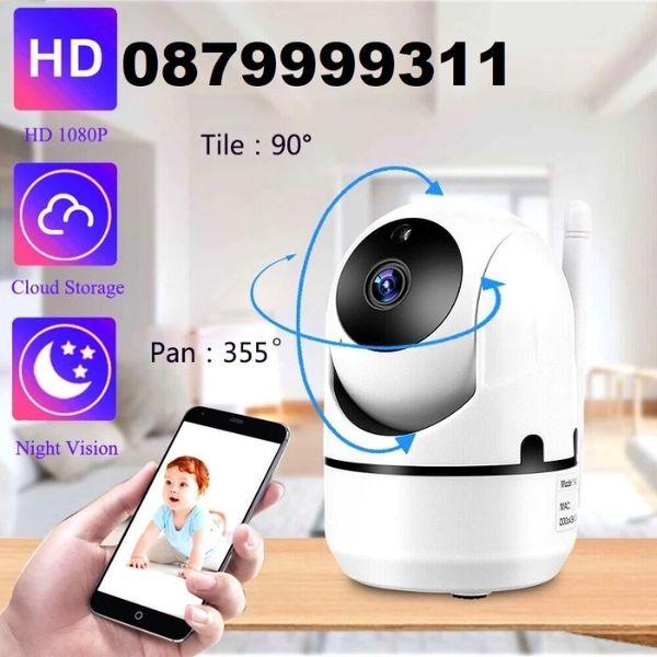 Топ модел Smart camera 1080p, Full HD IP - Wifi Смарт камера Бебефон гр. Пловдив - image 1