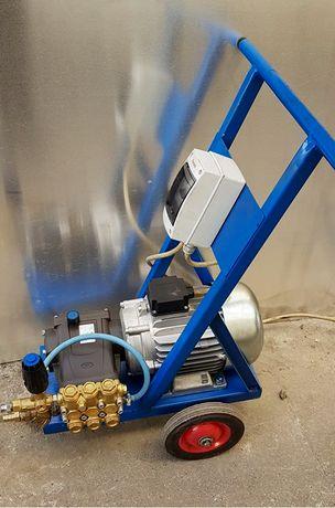 Cadru mobil pompa spalatorie auto /suport grup pompant