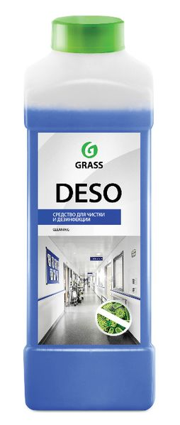 DESO 1 л. - Дезинфектант за почистване и дезинфекция - конц. 1:100 гр. Габрово - image 1