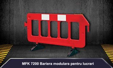 Bariera pentru lucrari 2m MFK PLASTIK ROMANIA