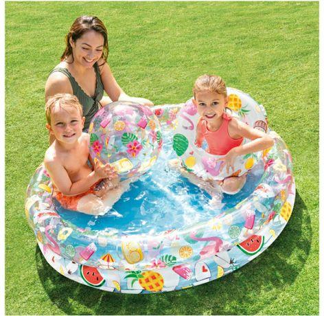 Надувной детский бассейн