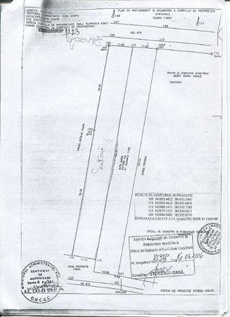 Vând Teren 2300mp Comuna Razvad Dambovita