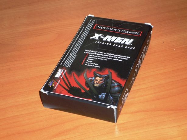 X-MEN trading card game (anul 2000), sigilate