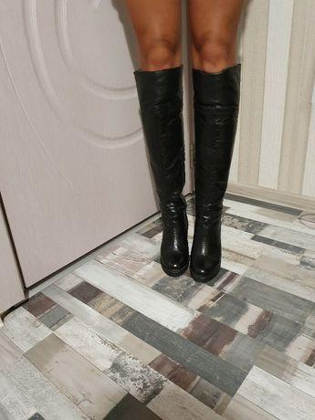 Зимни чизми/ботуши естествена кожа