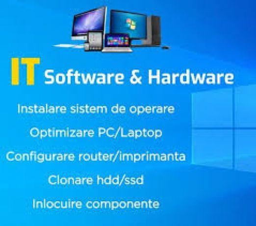 Instalare Windows, Asamblare/ Service PC,Laptop -ma deplasez