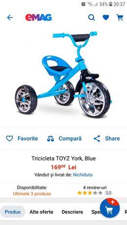 Tricicleta Toyz York baieti