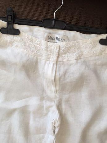 Продавам MAX-MARA - ленен панталон с бродерия