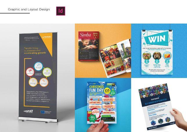 Servicii de graphic design si proiectare - raizenstudio.com