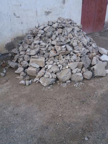 Продам бетонные отходы