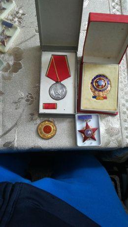 Medalii de merit în munca