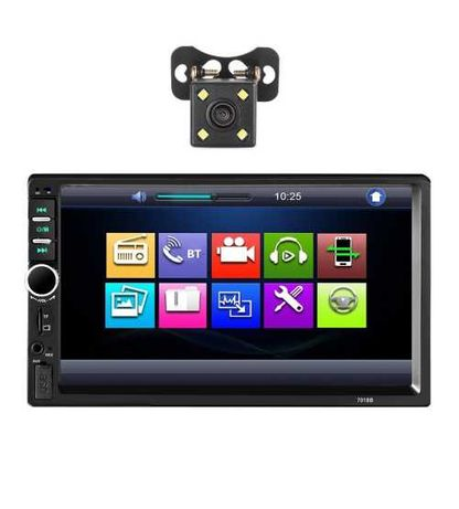Dvd Auto 2 Din Cu Camera Mirrorlink