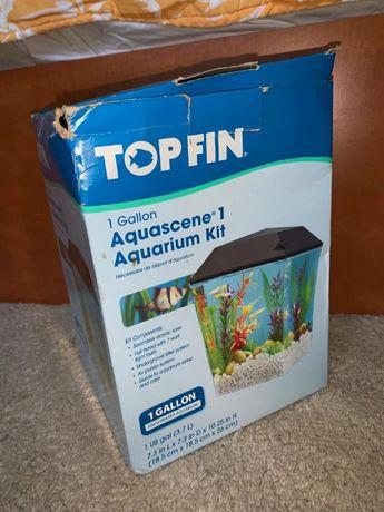 Acvariu Topfin, complet, made in USA, 3.7L