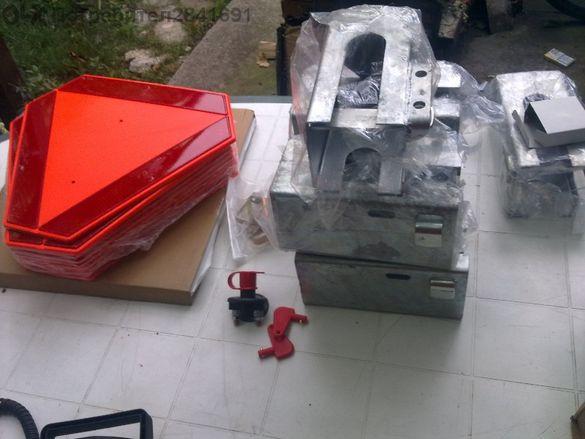 Заключващ механизъм за ремарке, каравана, платформа и др.
