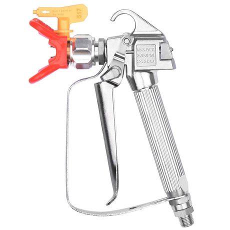 Pistol pentru pompa de zugravit vopsea lavabila airless