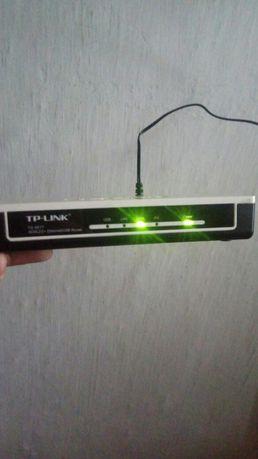 Модем Modem Роутер ADSL TP-LINK TD8817 без WI-FI, для Казактелекома