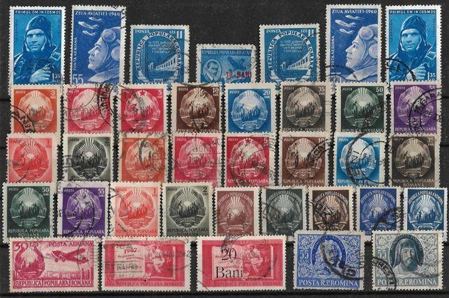 Super set filatelic, timbre vechi din RP Romana. Pret 25 lei toate