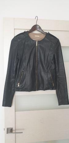 Кожаная куртка от Massimo Dutti