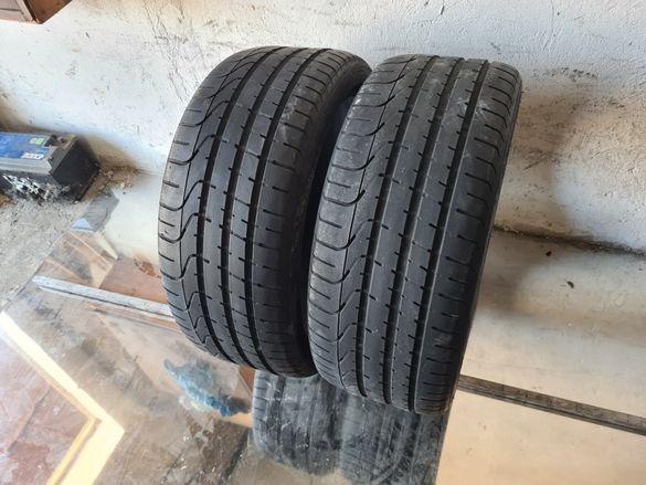 2 бр. летни гуми 255/35/20 Pirelli DOT 1512 5 mm