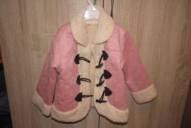 Новое детское пальто -куртка + подарок