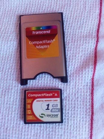 Compact flash pentru orga